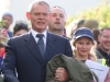 Martin Clunes on sets of Doc Martin
